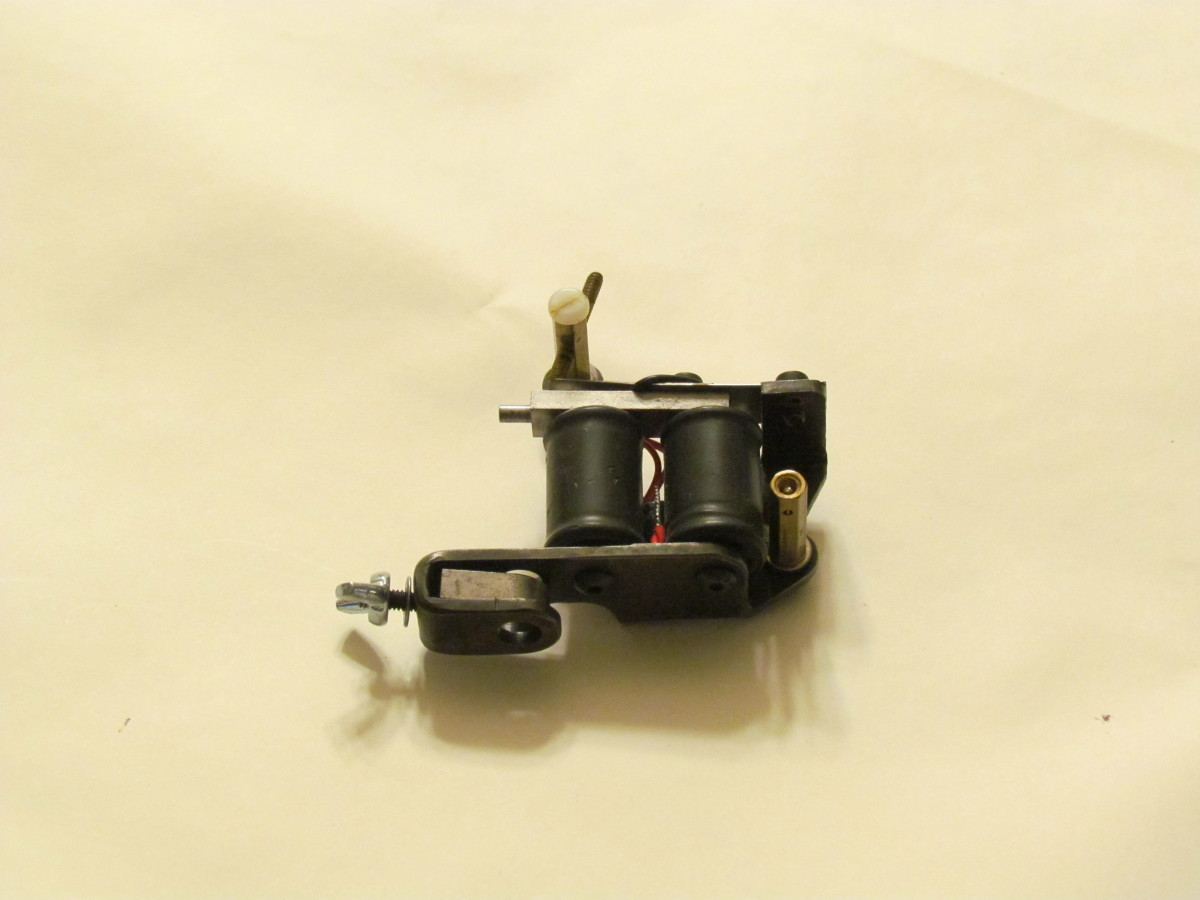 One of many tattoo machines I use