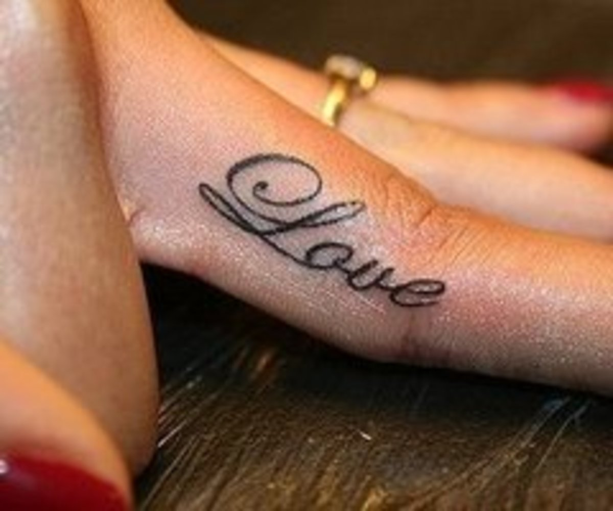 Finger tattoos designs ideas and pictures tatring for Tattoo tip percentage