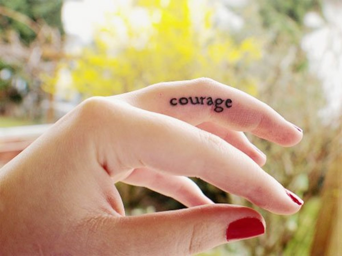 tatu-na-tele - Татуировки на пальцах: дизайн, идеи и фотографии -  - фото