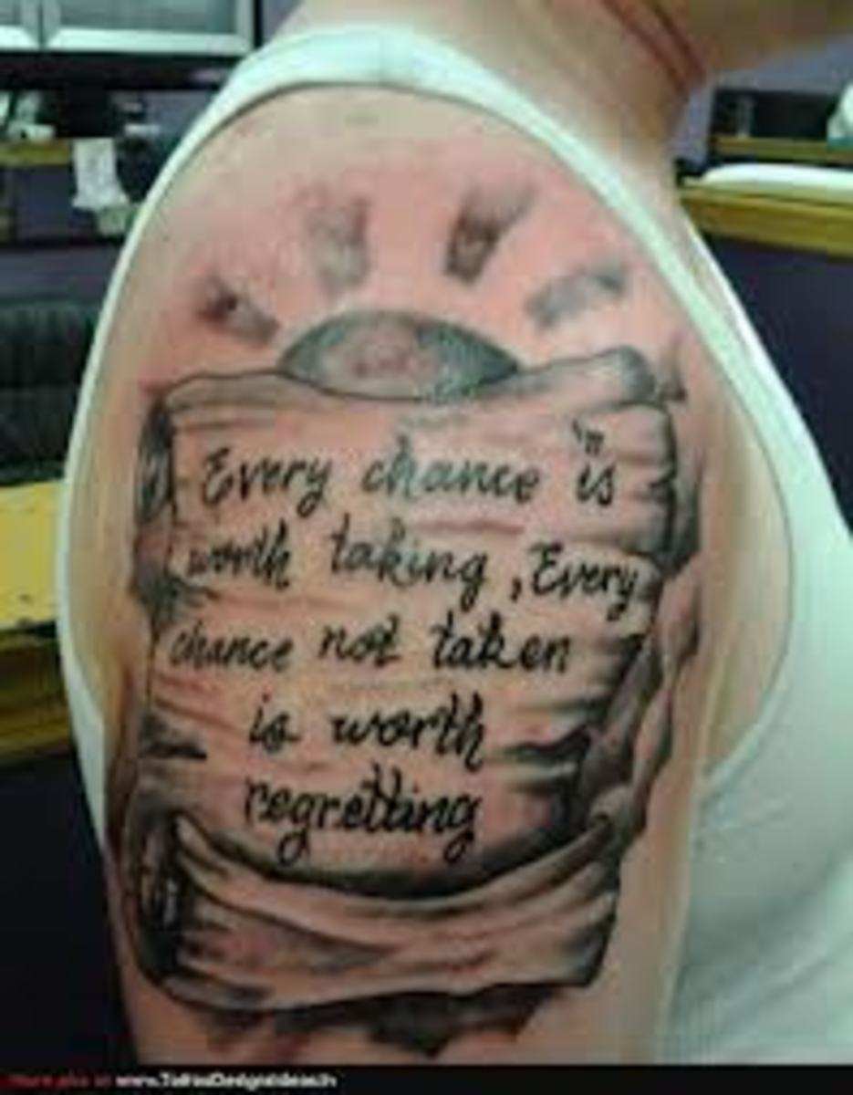 idei-dlya-tatuirovok - Свиток и баннер значения татуировки, идеи и картинки -  - фото