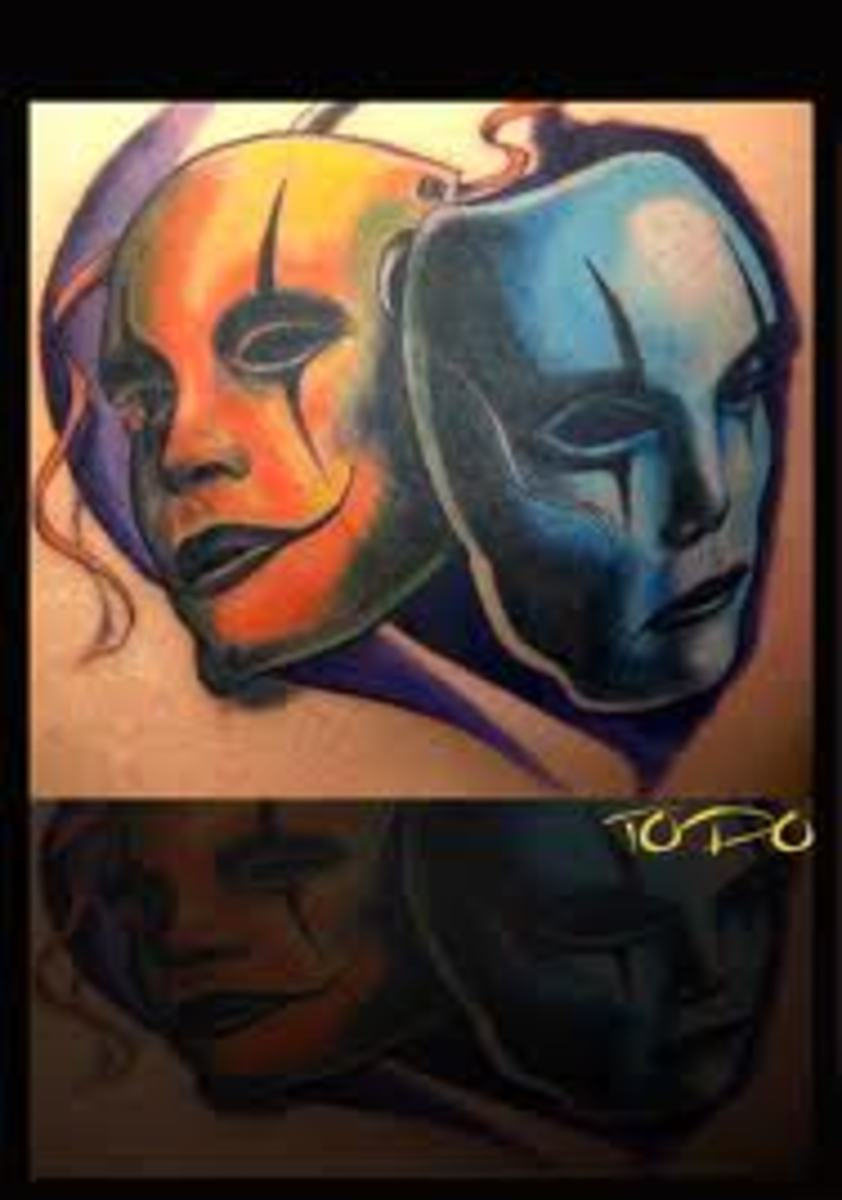 Mask Tattoo Designs And Mask Tattoo Meanings-Mask Tattoo ...