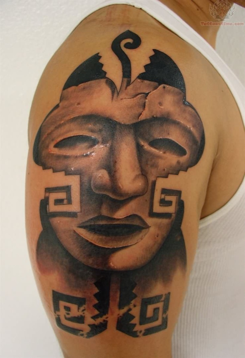 Mask Tattoo Designs Ideas and Meanings (With Pictures