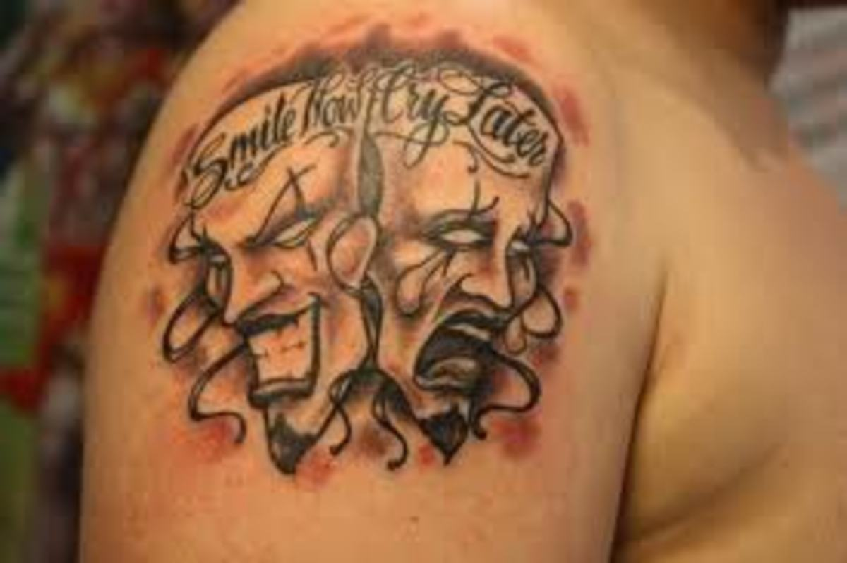 mask tattoo designs ideas and meanings with pictures tatring rh tatring com theater mask tattoos meaning theater mask tattoo meaning