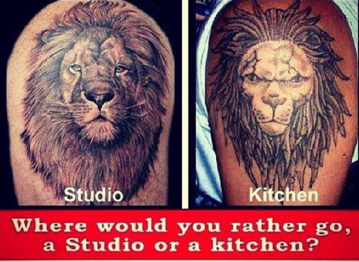 The difference between a quality Artist, and the guy in the basement at Uncle Bob's house.
