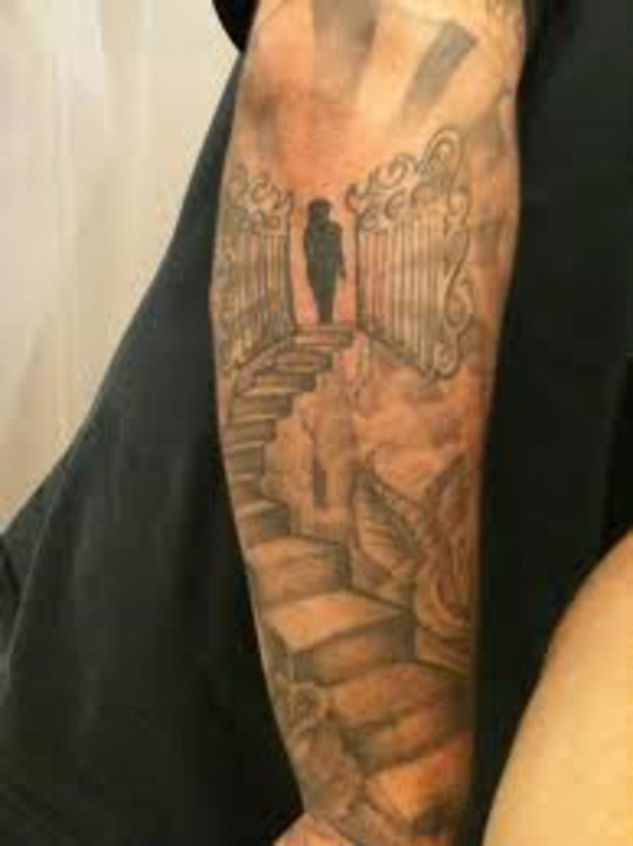 Gates of heaven tattoo designs and meanings tatring for Can fbi agents have tattoos
