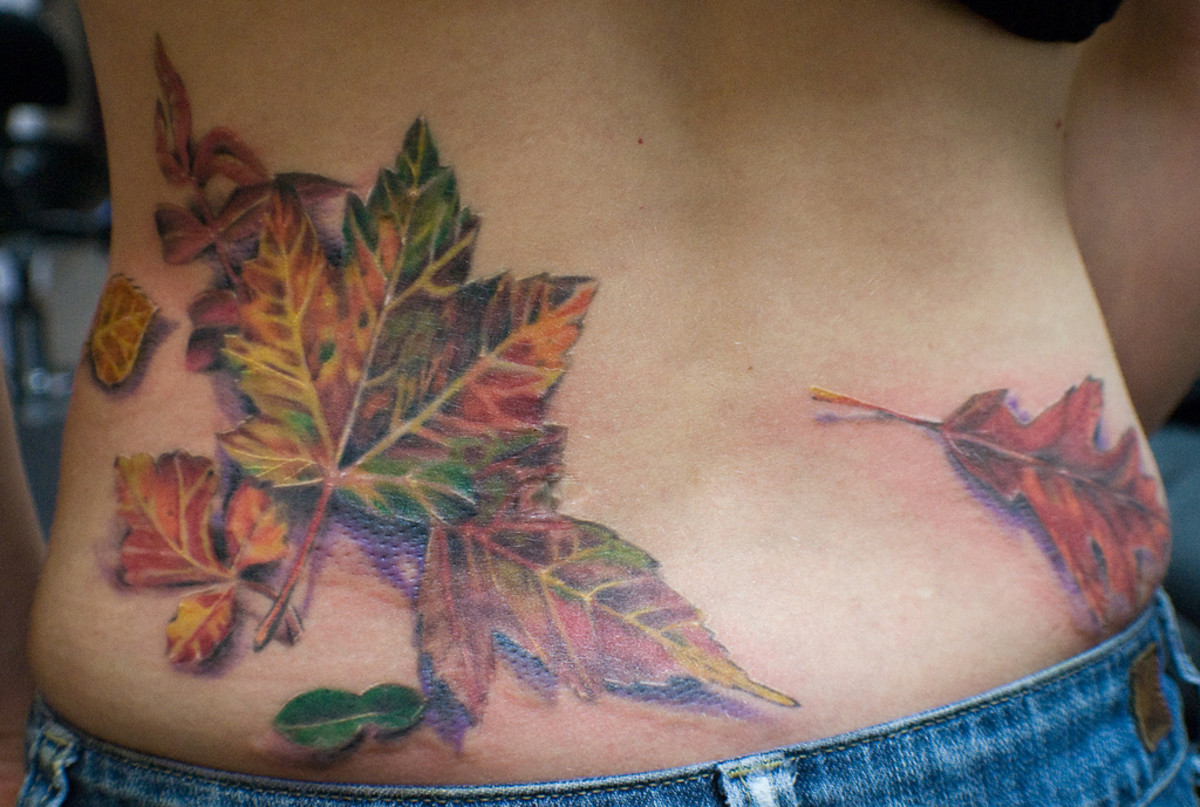 Leaf Tattoo Designs, Ideas, and Meanings