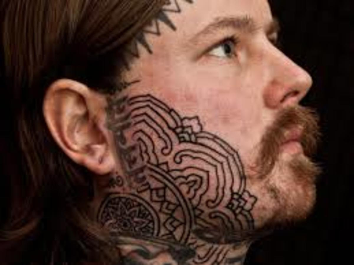 tatu-na-tele - 5 безумных мест для тату -  - фото