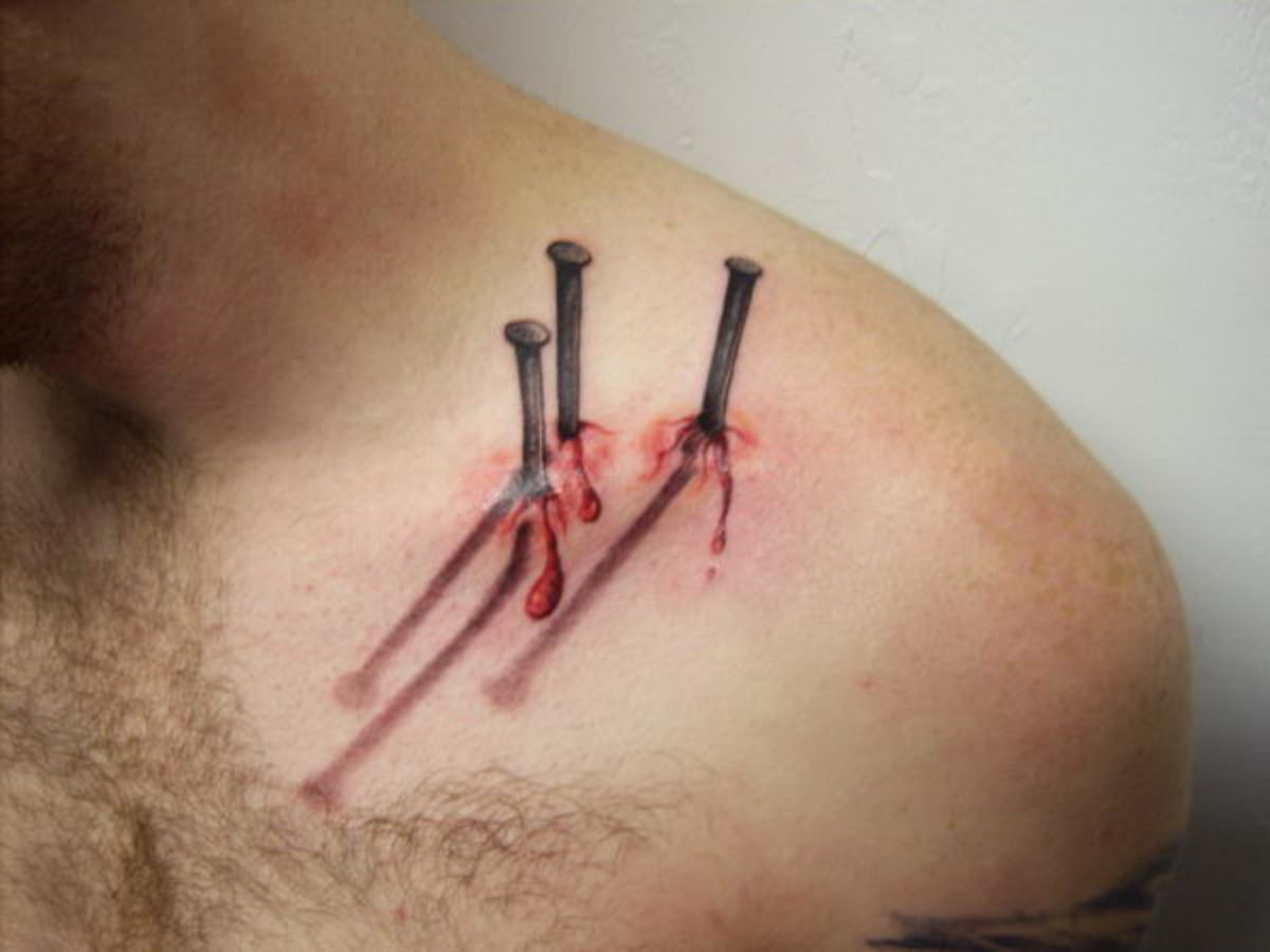 This tattoo looks more painful than it was!