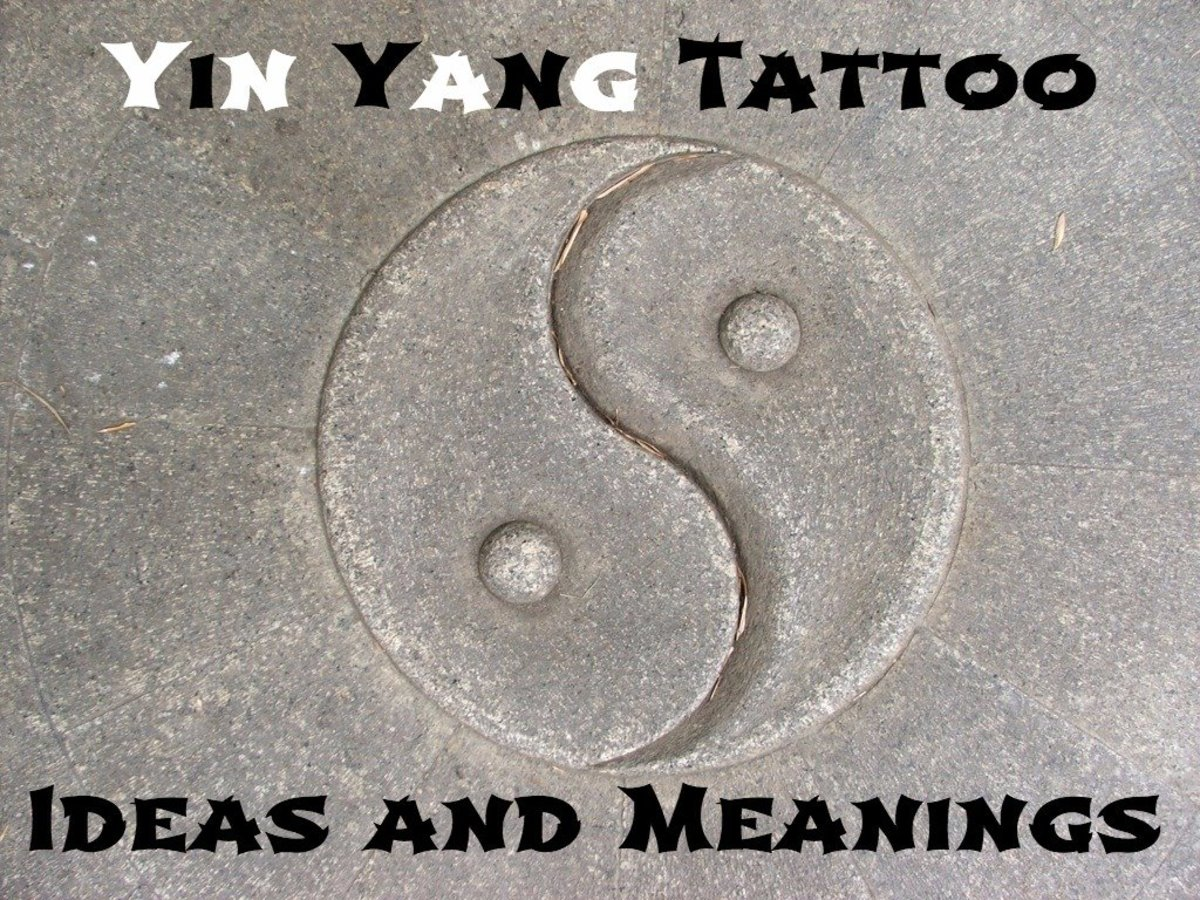Ying Yang Bad : Yin yang tattoo ideas designs and meaning tatring