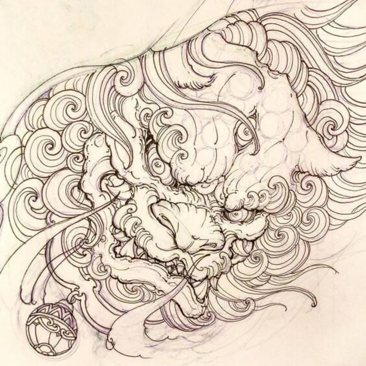 The Guardian Lions Foo Dog Tattoo Meanings History Ideas