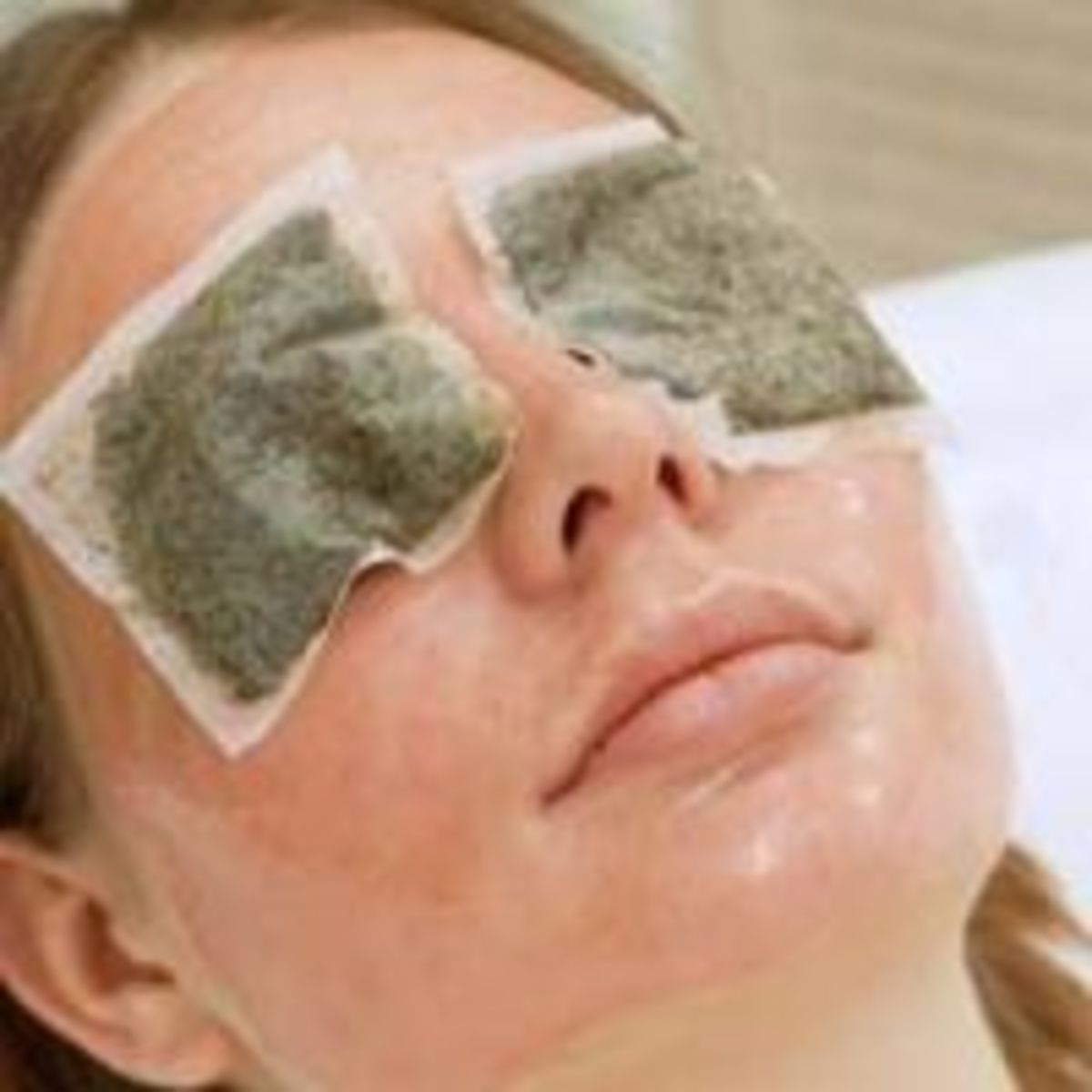 Relax and rid yourself of dark under-eye circles with cool teabags. Soak the bags in cold water and than place on eyes for 10 minutes.