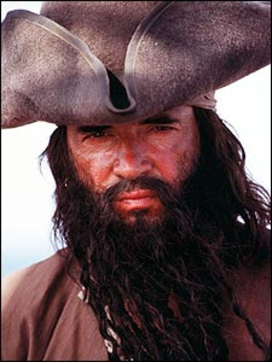 Top Ten Famous Pirates in the Movies - Blackbeard: Terror at Sea 2007