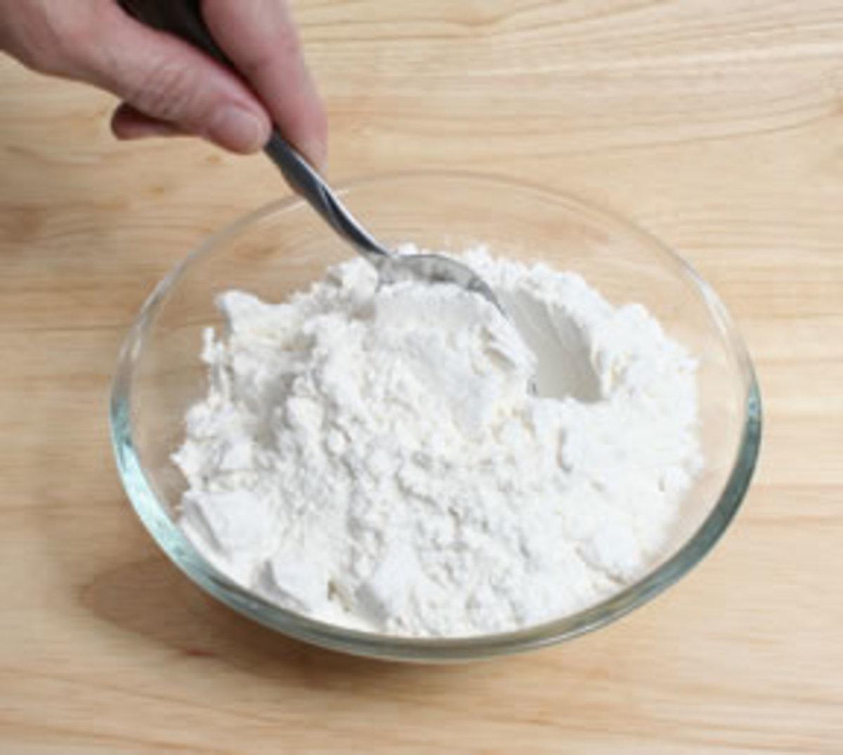 Avoid white flour or all purpose flour