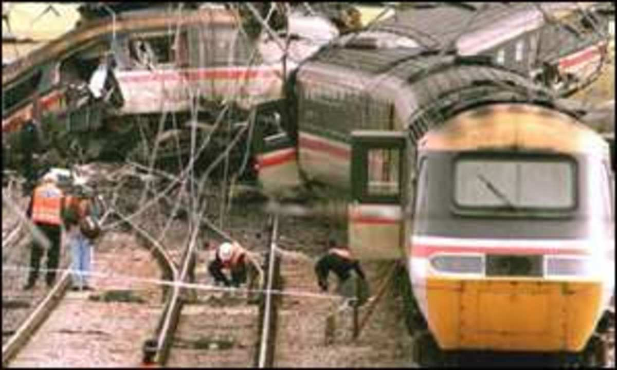 Worst Rail Accidents in the UK