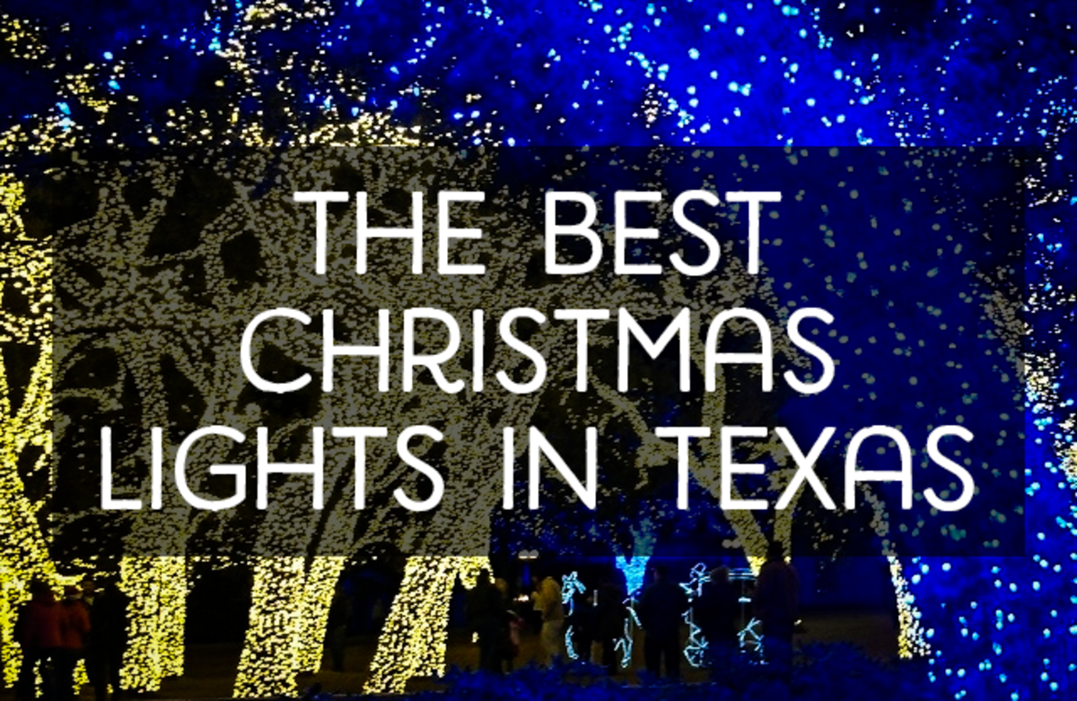 Best Christmas Lights in Texas