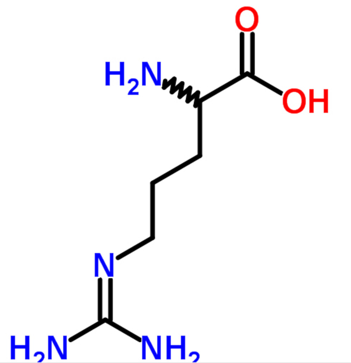 AAKG chemical structure (taken from ChemSpider.com)