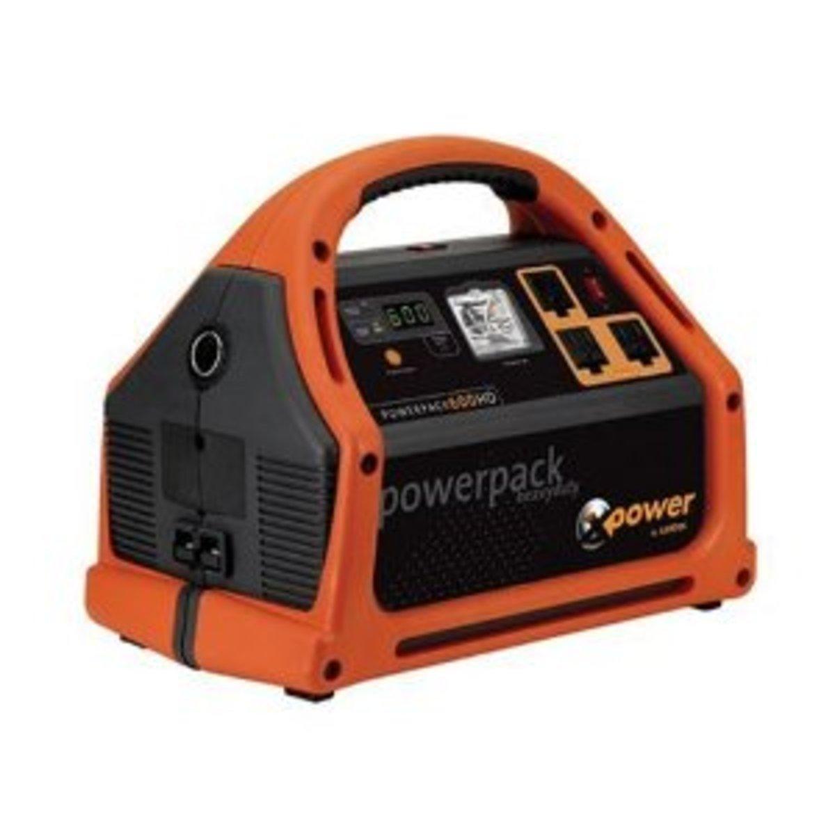Xantrex Powerpack 600 Watt Jumpstarter, Power Inverter and Backup Power Source