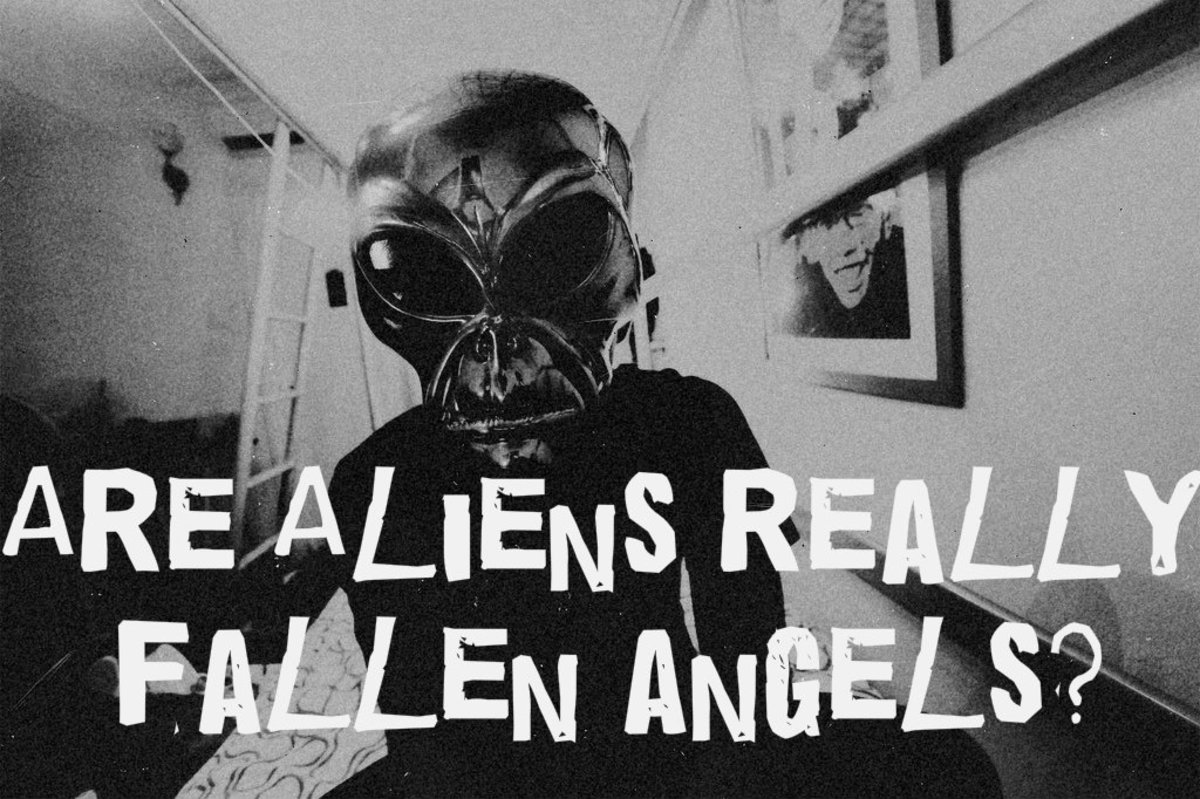 10 Reasons Why Aliens Are Actually Fallen Angels or Demons