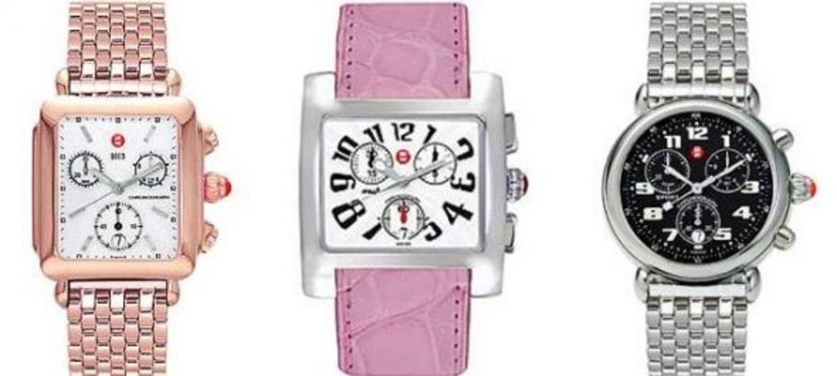 Michele watches.