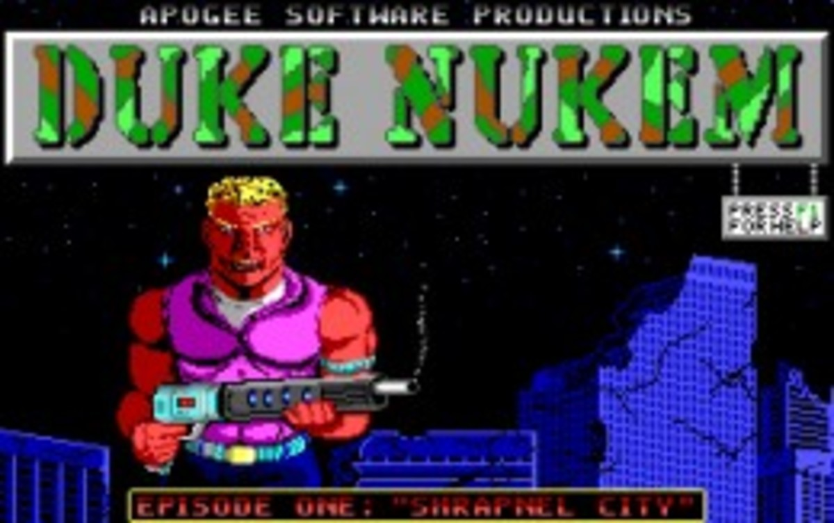 The Evolution of the Duke Nukem Character