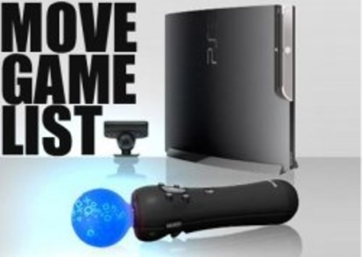 Updated List of PS3 Move Games