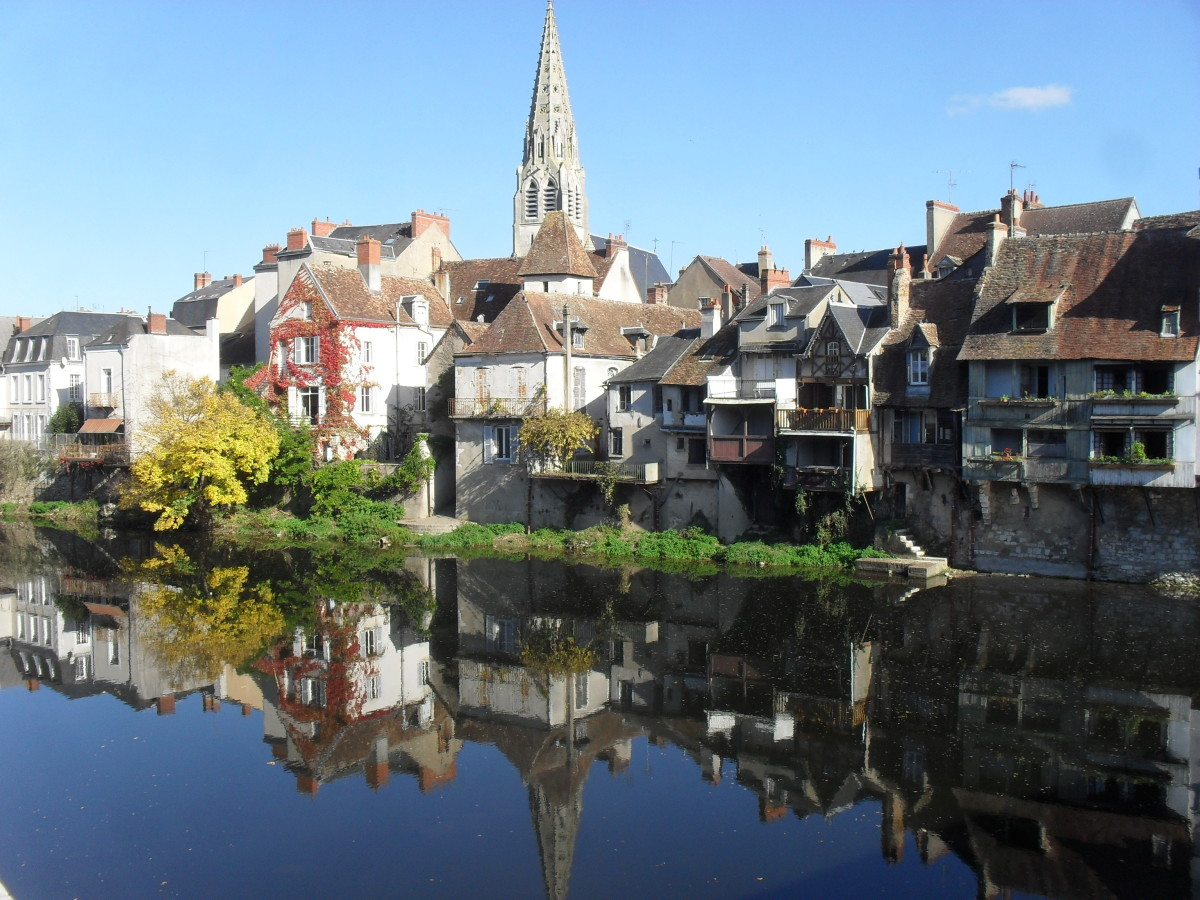 A Typical French Town Argenton Sur Creuse In Pictures