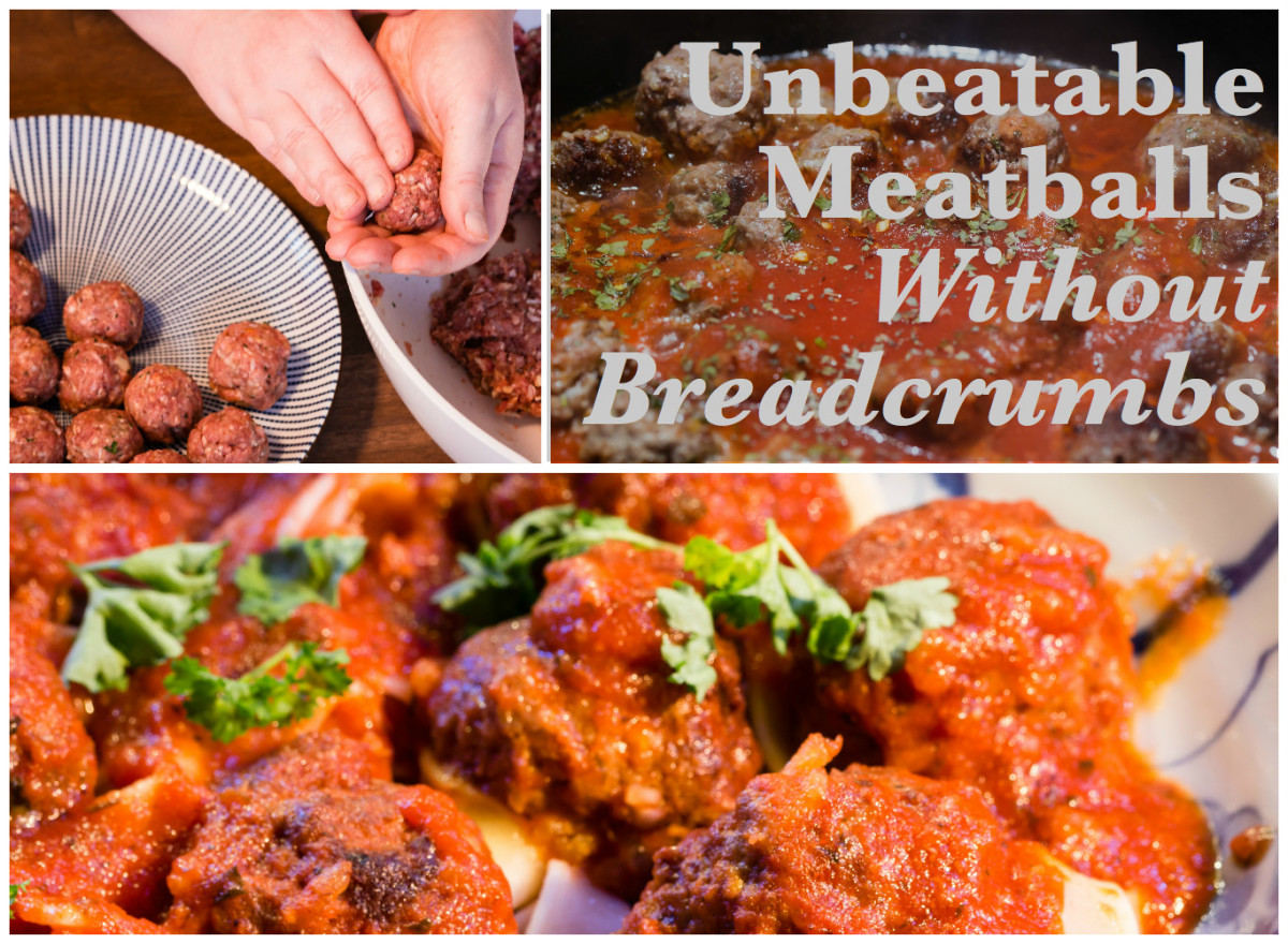 Recipe for How to Make Meatballs Without Breadcrumbs
