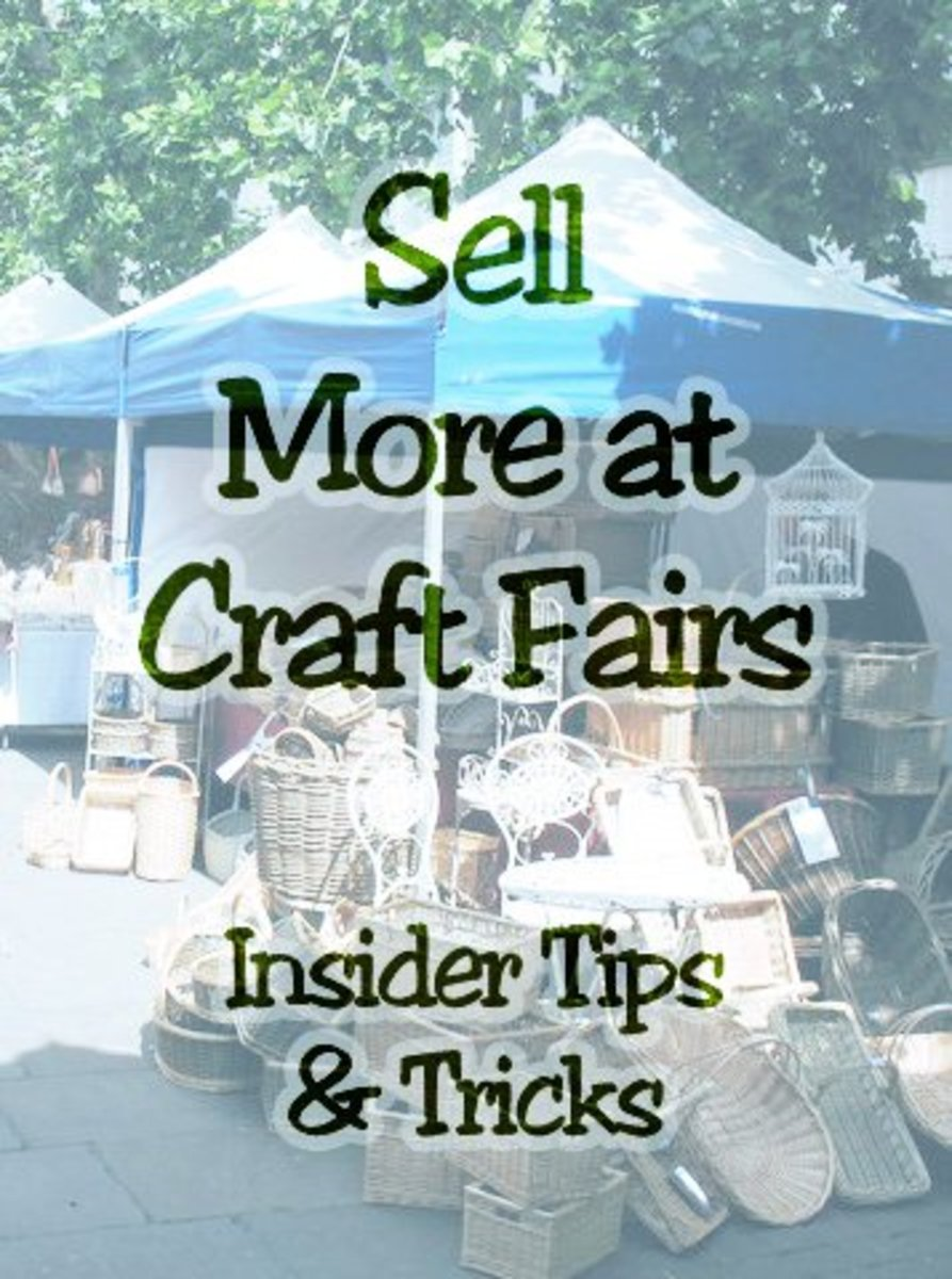 Craft fair vendor sales tips and booth ideas for Craft show ideas to sell