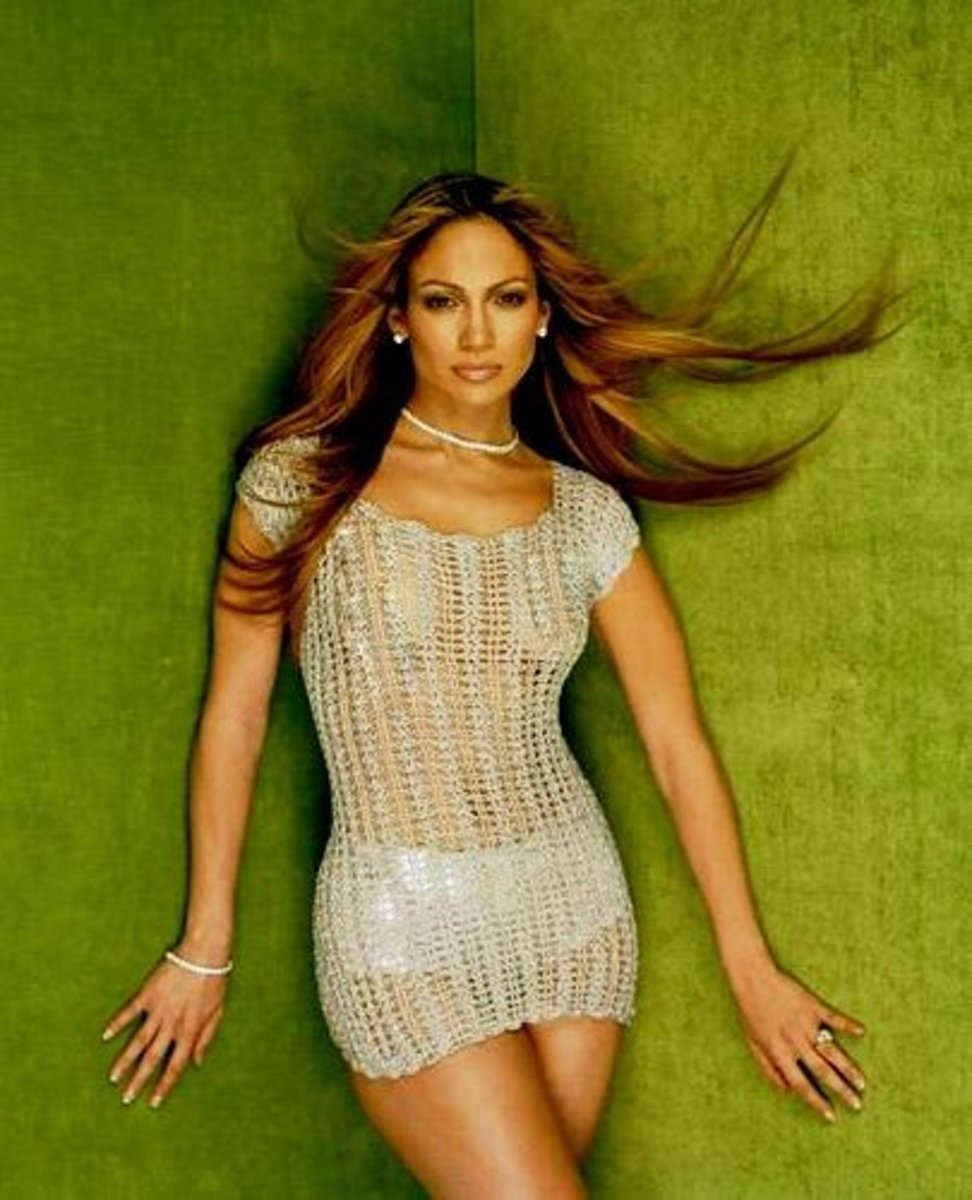 Clearly,  there is nothing sexy about 45-year-old Jennifer Lopez with ultra-long hair.