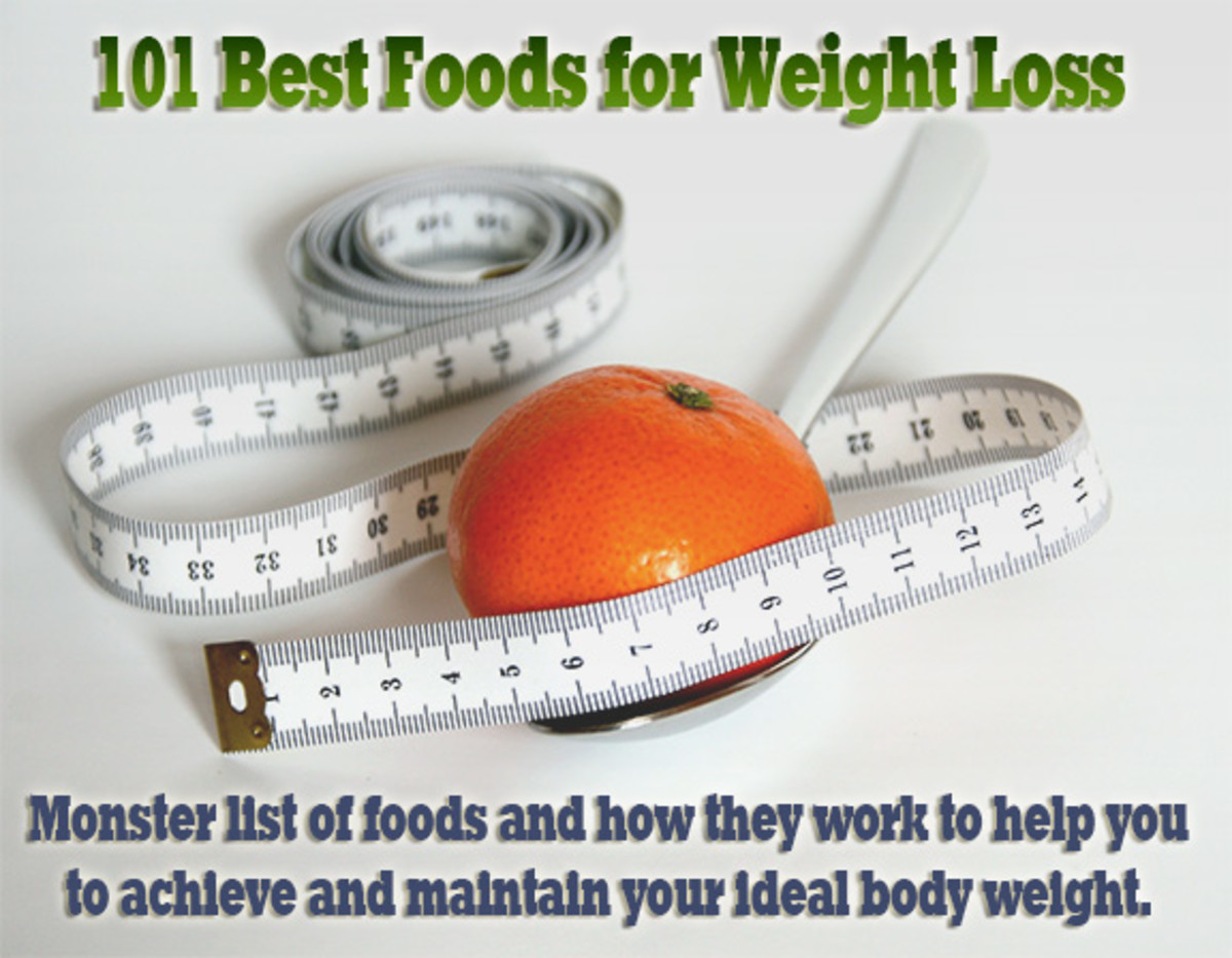 Diet Tips - 101 Best Weight Loss Foods
