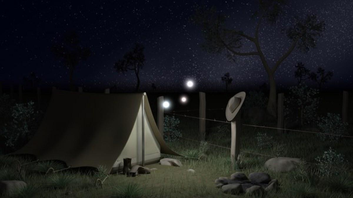 What are Australia's Min Min lights?