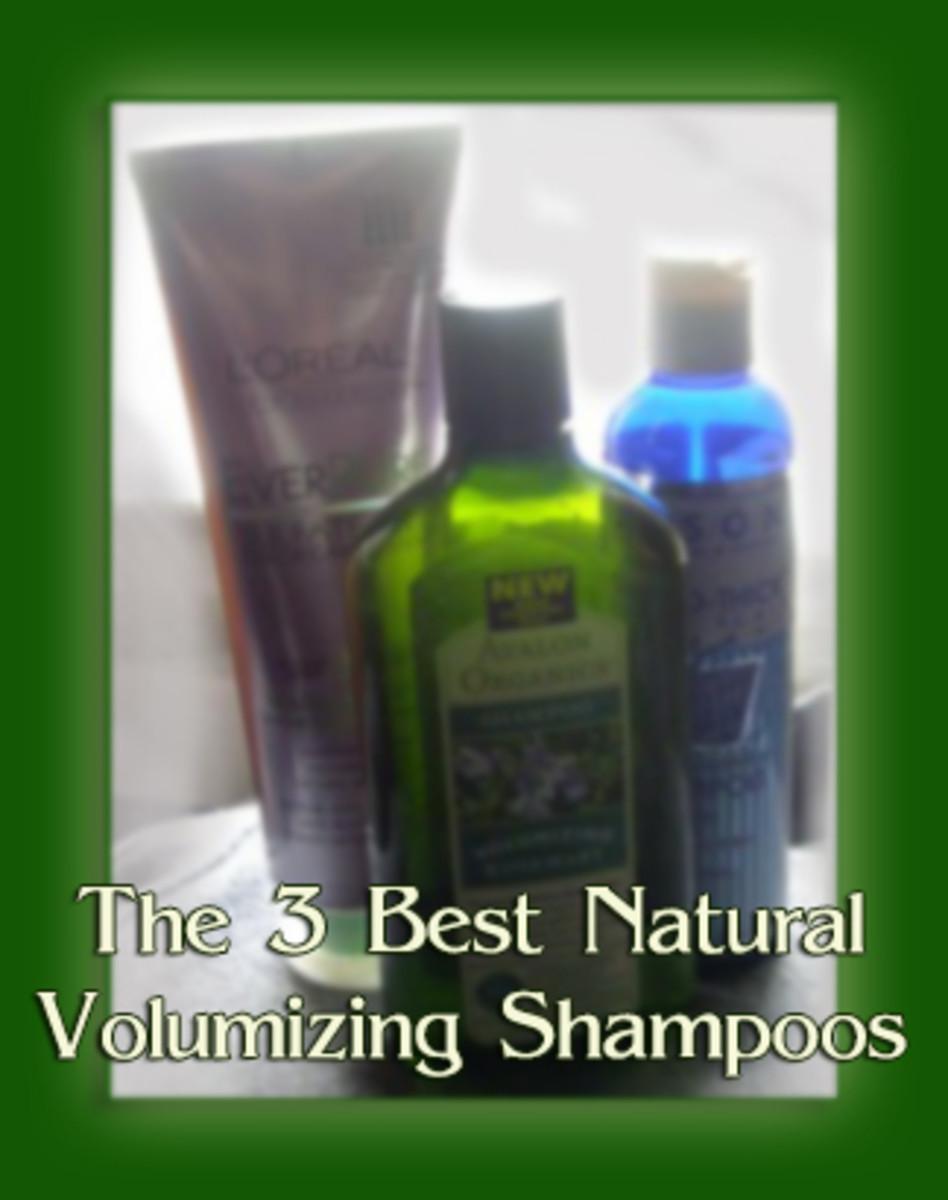 The 3 Best Organic Volumizing Shampoos