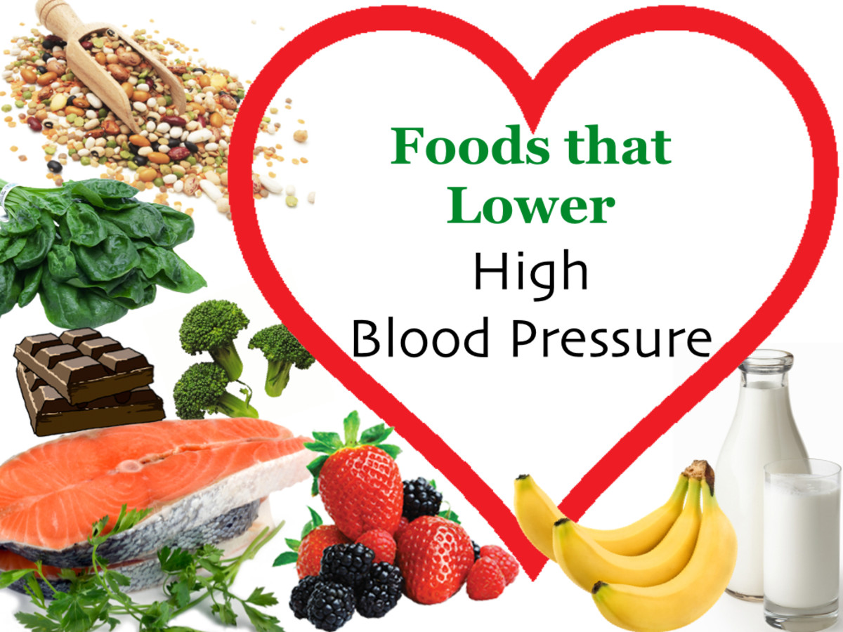 Foods that Lower High Blood Pressure and Reduce Hypertension: Food List