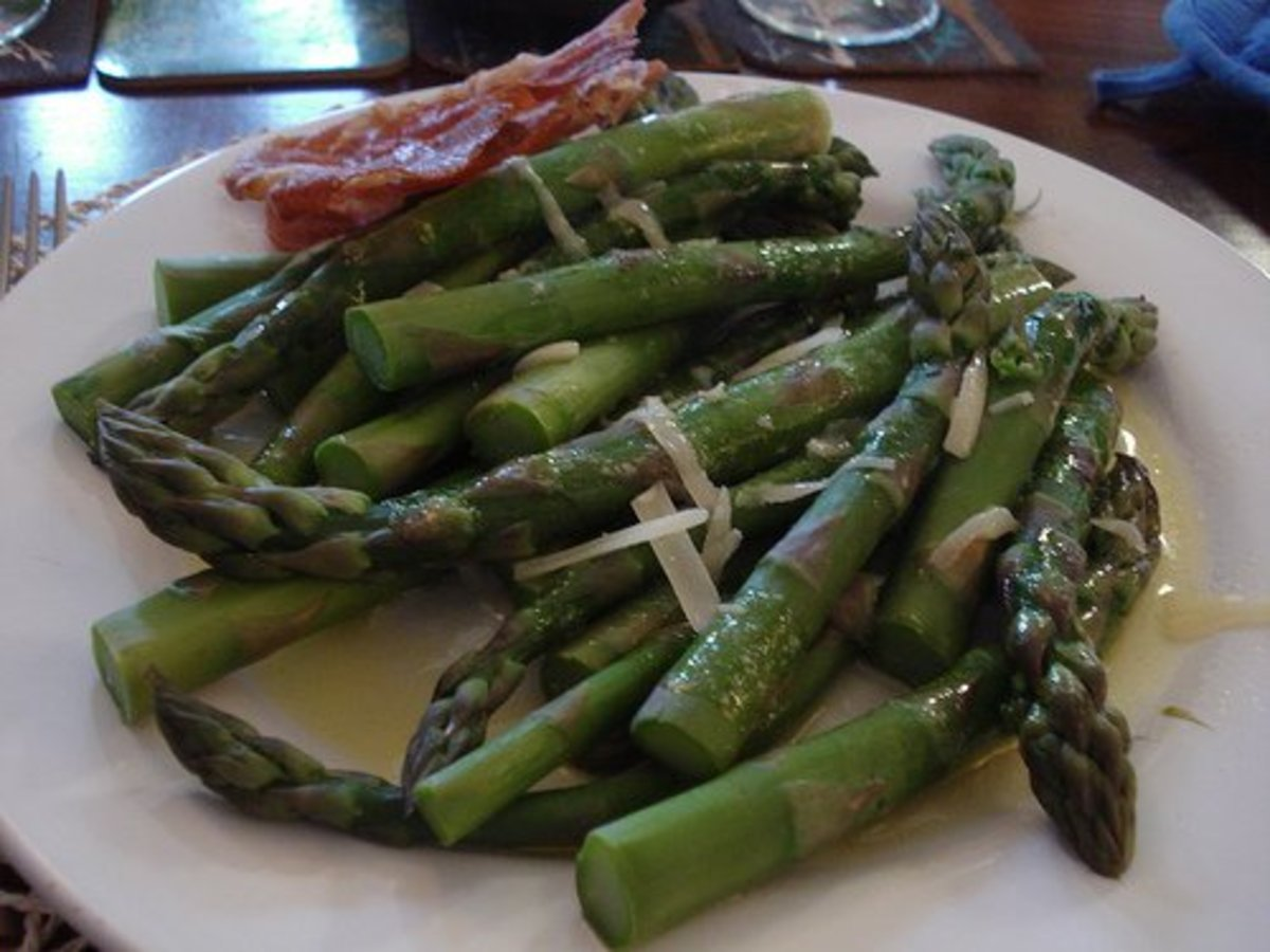 Even a little asparagus can make your urine smell bad...