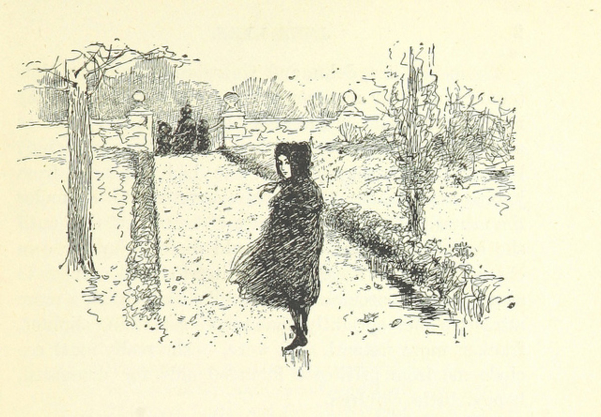 Image taken from page 19 of Jane Eyre.