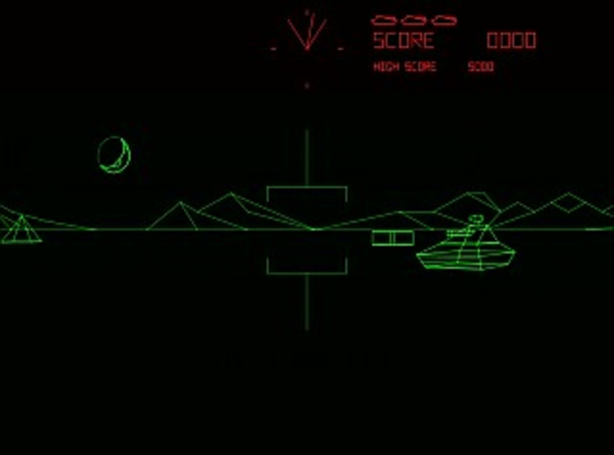 Those Battlezone Vectors Were Something Special
