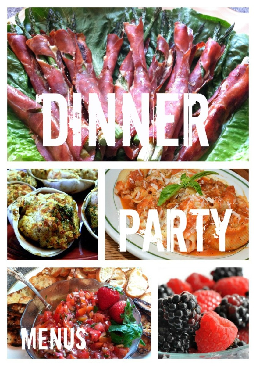 Dinner party recipes delishably for Dinner party menus and recipes