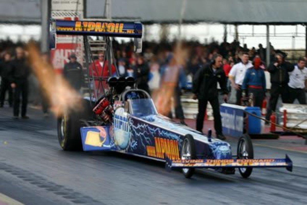 2005 European Top Fuel Champion Lex Joon.