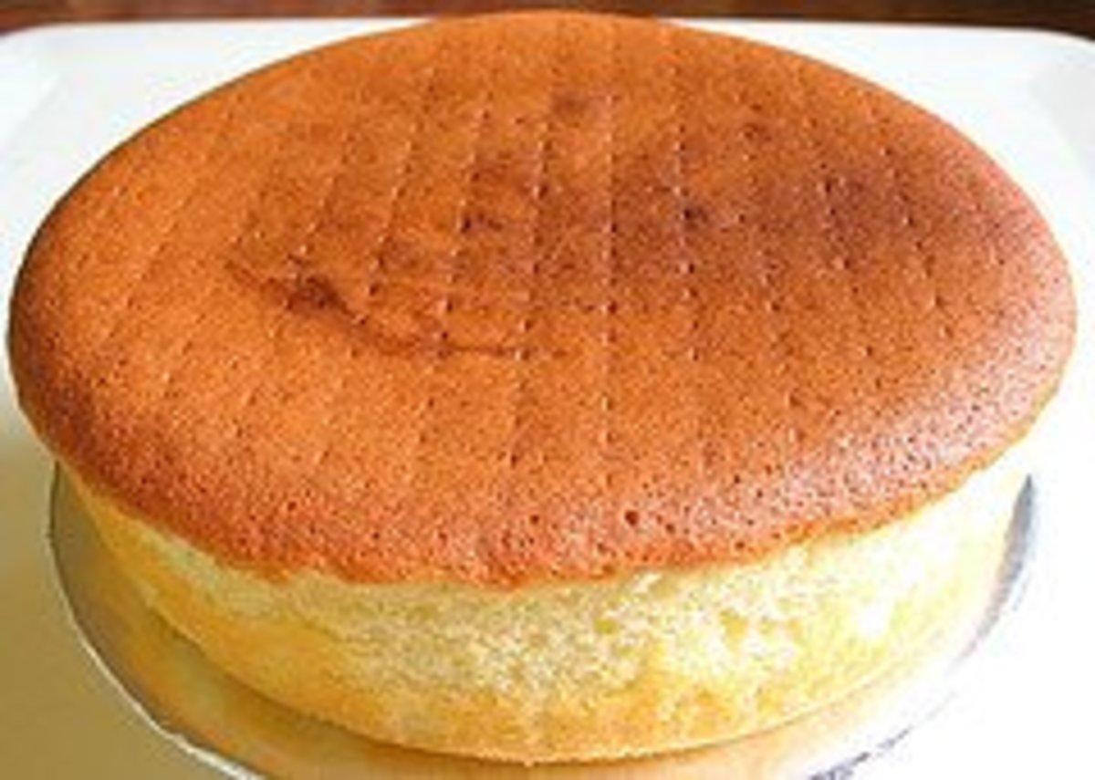 Baking sponge cake isn't a difficult endeavor!