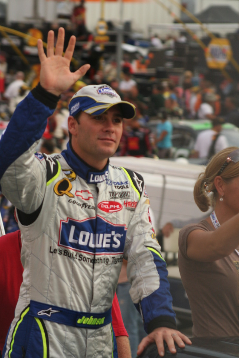 NASCAR's Jimmie Johnson: Is He Lucky, Cheating, or Talented?