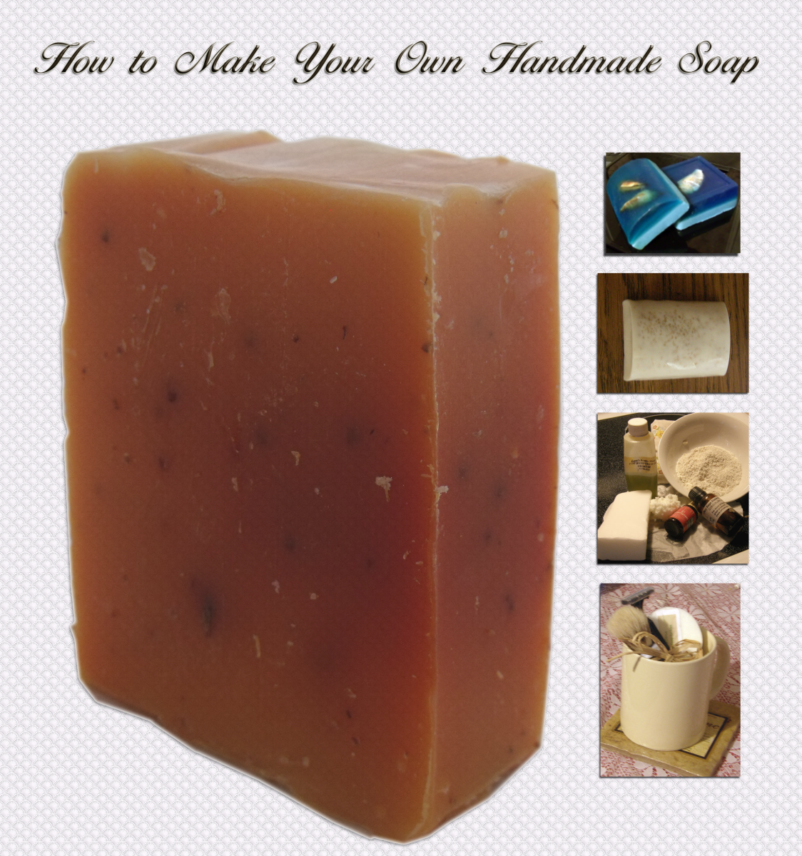 Learn the different techniques for handcrafting soaps