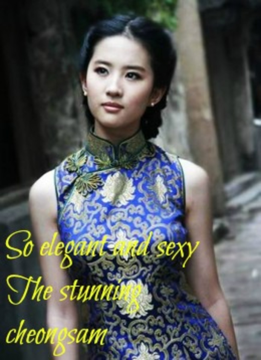 The Eternal Elegant Cheongsam (Qipao)
