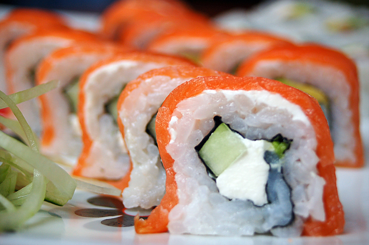Some people are creeped out by sushi, but imagine being terrified of it.