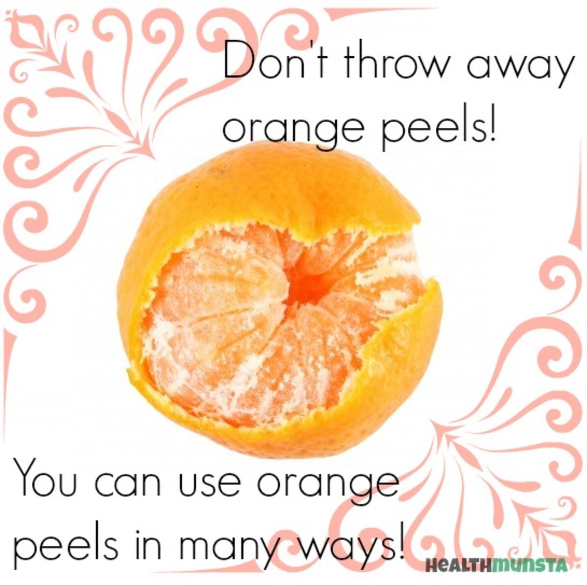 Fruit Peel Benefits | Benefits of Orange Peels