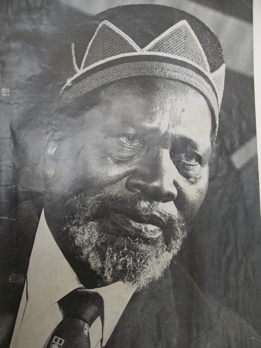 Portrait of Jomo Kenyatta