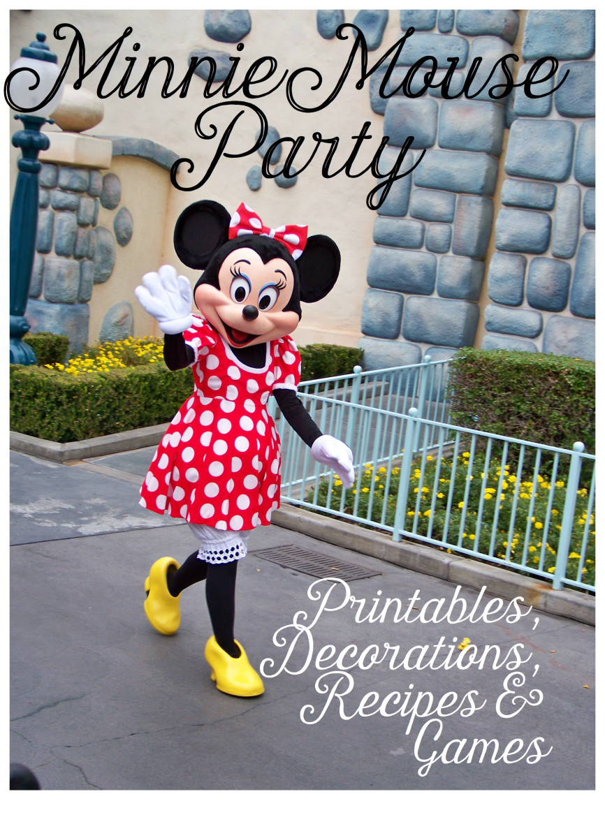 graphic regarding Free Printable Minnie Mouse Birthday Invitations named Minnie Mouse Get together Suggestions and Absolutely free Printables Holidappy