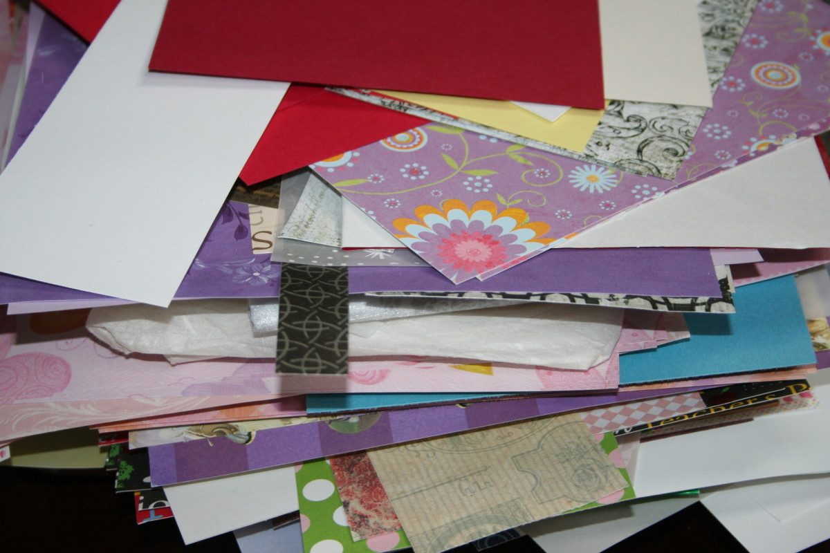 5 Ways to Store Scrapbook Paper!