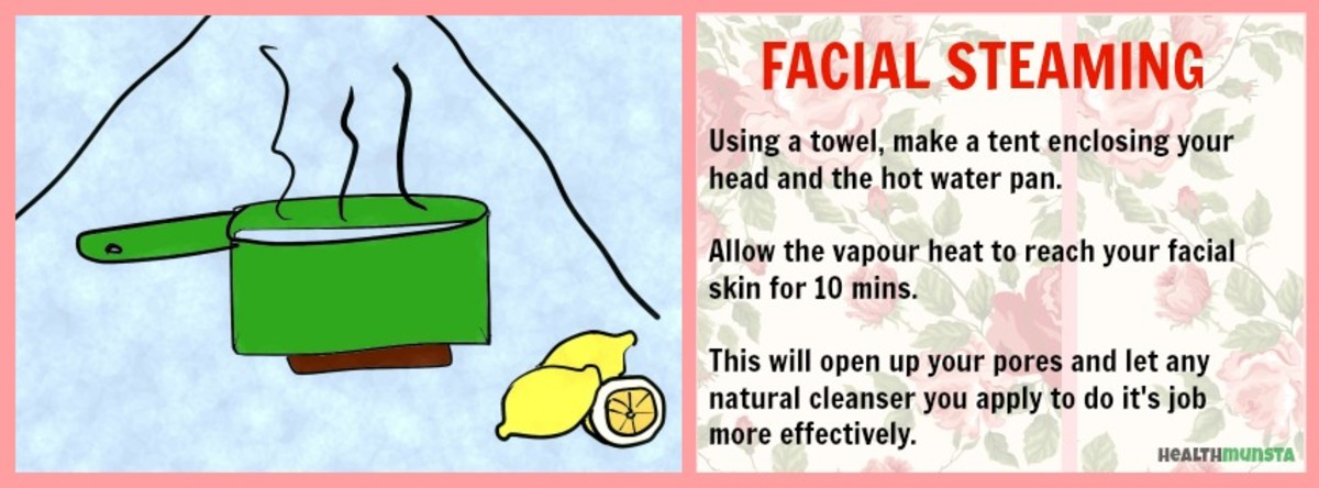 There are many benefits of facial steaming for skin.
