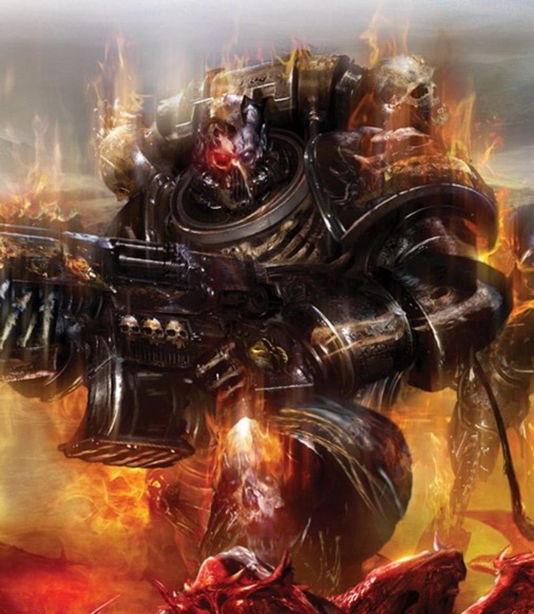 Legion of the Damned Codex - Warhammer 40k