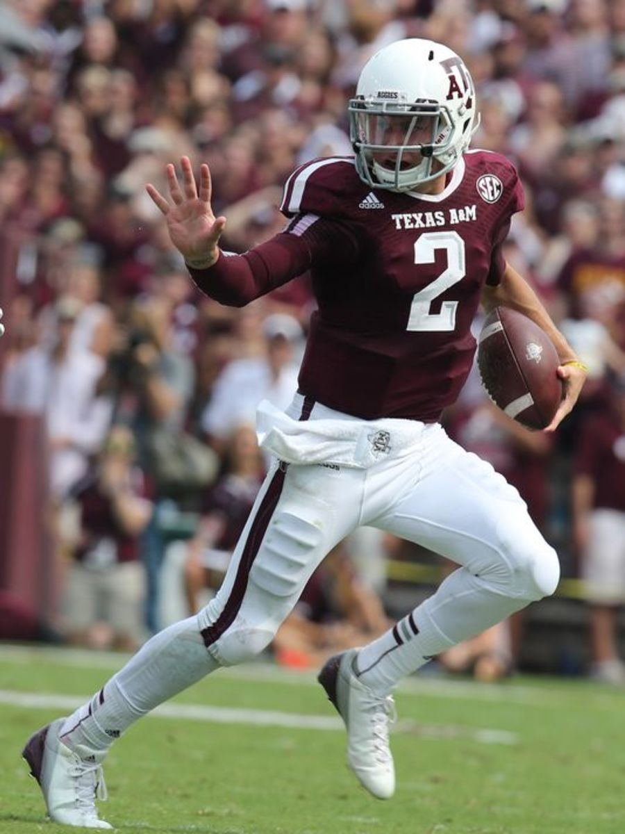 Manziel beat teams with his legs and arm